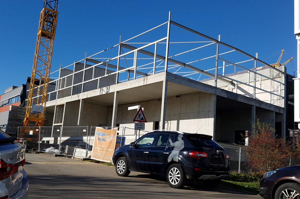 SF-Bau-Trockenbauarbeiten-Erweiterung best. Halle mit Büro-Jebenhausen-Stahlbau-Schlüsselfertigbau