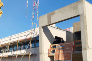SF-Bau-Richtfest-Neubau Produktionshalle-Schkeuditz-Stahlbau-Schlüsselfertigbau