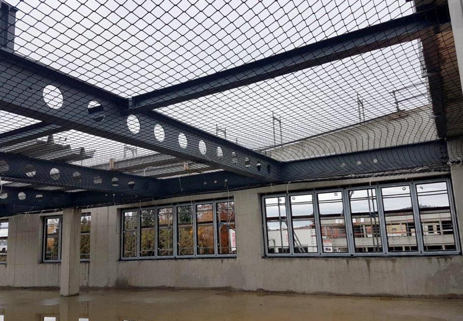 Stahlbau-Fertigstellung Stahlbauarbeiten-Neubau Flagship Outlet Center-Metzingen-Stahlbau