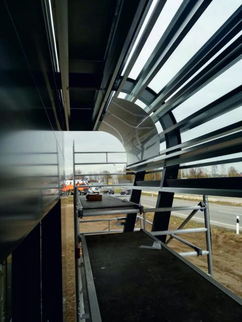 Stahlbau-Stahlkonstruktion-Neubau Automatentankstelle-Wertingen-Stahlbau
