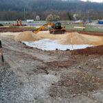SF-Bau-Erdarbeiten-Neubau Halle mit Büroanbau-Schwäbisch Gmünd-Stahlbau-Schlüsselfertigbau