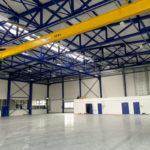 SF-Bau-Vorbereitung Abnahme-Anbau Halle-Eschenbach-Stahlbau-Schlüsselfertigbau