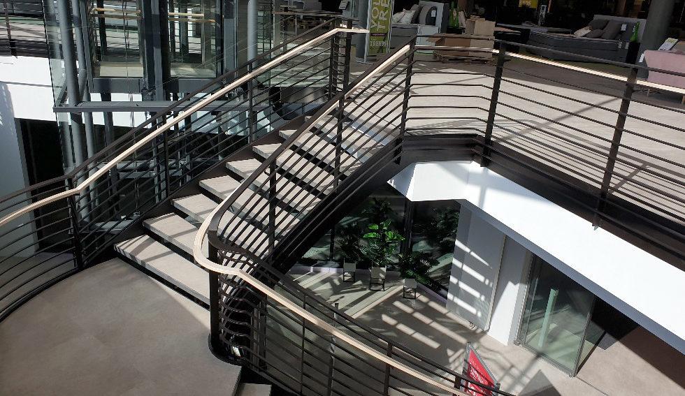 I-Bau-Eröffnung Möbel Rieger-Neubau Möbelhaus-Heilbronn-Stahlbau-Industriebau