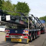 Stahlbau-Schwetransport Stahlträger-Neubau Sport- und Familienbad-Konstanz-Stahlbauarbeiten