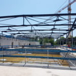 Stahlbau-Stahlkonstruktion-Neubau Sport- und Familienbad-Konstanz-Stahlbauarbeiten
