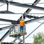 Stahlbau-Tobias Fröhner-Stahlkonstruktion-Neubau Sport- und Familienbad-Konstanz