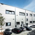 SF-Bau-Abnahme-Referenzbilder-Tobias Fröhner-Erweiterung best. Halle mit Büro-Jebenhausen-Stahlbau-Schlüsselfertigbau