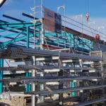 SF-Bau-Start Fassendemontage-Nellingen-Stahlbau-Schlüsselfertigbau