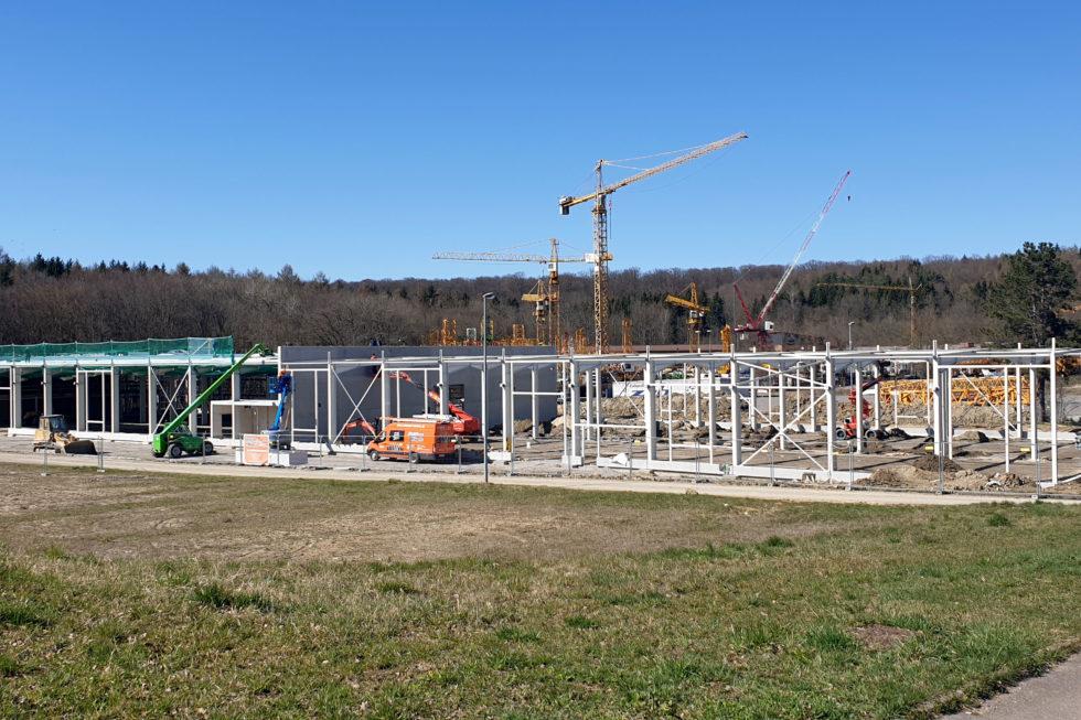 SF-Bau-Neubau Produktionshalle-Göppingen-Stahlbau-Schlüsselfertigbau