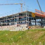 SF-Bau-Neubau Produktionshalle mit Büro-Albershausen-Stahlbau-Schlüsselfertigbau