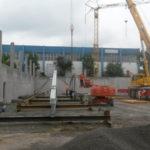 I-Bau-Stellung Fachwerkträger-Neubau Halle-Stahlkonstruktion-Stahlbau-Waiblingen-Industriebau