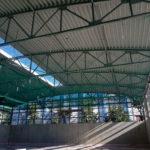 I-Bau-Dachabdeckung-Neubau Halle-Waiblingen-Stahlbau-Industriebau