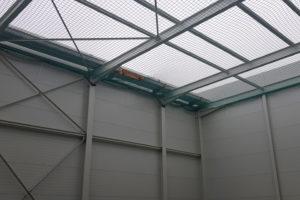 I-Bau-Isopaneelmontage-Anbau Logistikhalle-Illertissen-Stahlbau-Industriebau