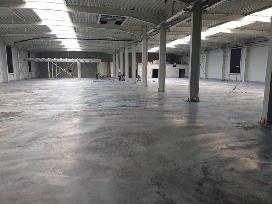 SF-Bau-Bodenarbeiten-Neubau Produktionshalle-Göppingen-Stahlbau-Schlüsselfertigbau