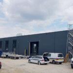 SF-Bau-Start Innenausbau-Neubau Produktionshalle mit Büro-Albershausen-Stahlbau-Schlüsselfertigbau