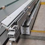 I-Bau-Materialanlieferung-Grötz-Sporthalle Hillerschule-Bietigheim-Bissingen-Stahlbau-Industriebau