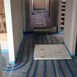 SF-Bau-LK-Heizungskanäle-Neubau Produktionshalle mit Büro-Albershausen-Stahlbau-Schlüsselfertigbau