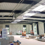 SF-Bau-Estricharbeiten-Neubau Produktionshalle mit Büro-Albershausen-Stahlbau-Schlüsselfertigbau