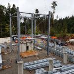 Stahlbau-Bauabschnitt 1-Neubau Aussichtsturm-Schömberg-Stahlbau
