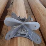 Stahlbau-Holzstützen-Neubau Aussichtsturm-Schömberg-Stahlbau