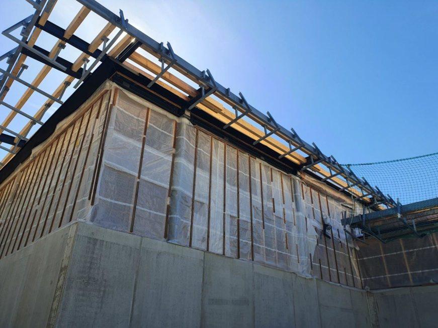 Stahlbau-Wände -Schwaketenbad-Konstanz-Stahlbau