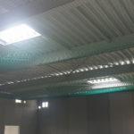 I-Bau-Trapezblecharbeiten-Neubau Getränkemarkt-Edeka-Göppingen-Stahlbau-Industriebau