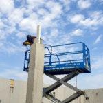 I-Bau-Konsolen für Holzbau-Neubau Getränkemarkt-Edeka-Göppingen-Stahlbau-Industriebau