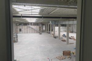 SF-Bau-Bodenarbeiten-Neubau Produktionshalle 1 + 2, Bürogebäude und Außenanlagen-Kreeb Göppingen Stauferpark-Schlüsselfertig