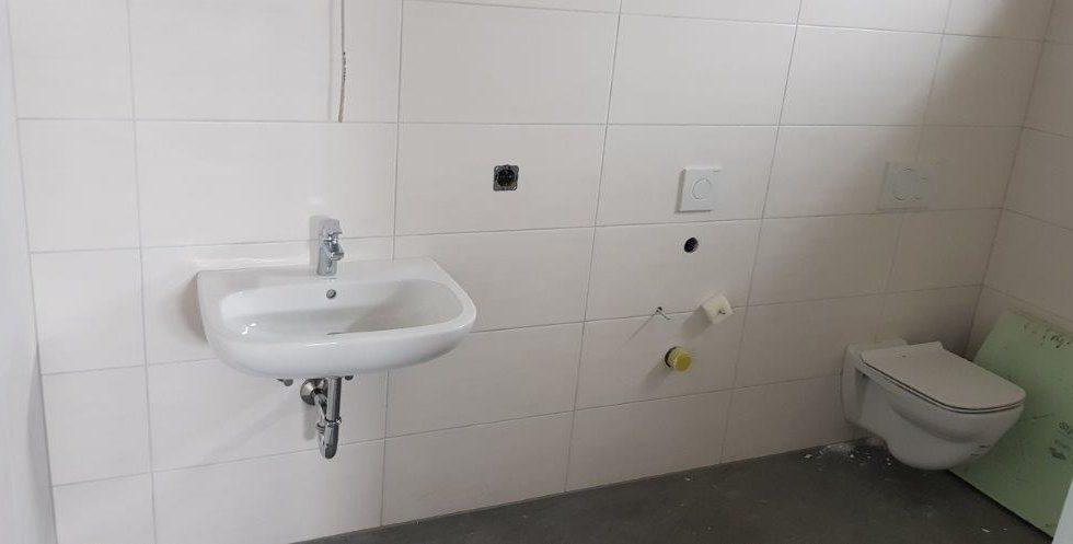 SF-Bau-Innenausbau Sanitär-Neubau Produktionshalle mit Büro-Leutz Albershausen-Schlüsselfertigbau