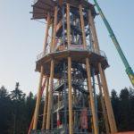 Stahlbau-zweite Ebene-Neubau Aussichtsturm-Schömberg-Stahlbau