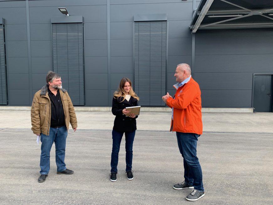 SF-Bau-Abnahme-Neubau Produktionshalle mit Büro-Leutz Albershausen-Schlüsselfertigbau