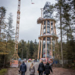 Stahlbau-erste Begehung-Neubau Aussichtsturm-Schömberg-Stahlbau