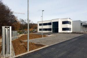 SF-Bau-Fertigstellung-Neubau Produktionshalle-Kreeb-Stauferpark-Schlüsselfertigbau