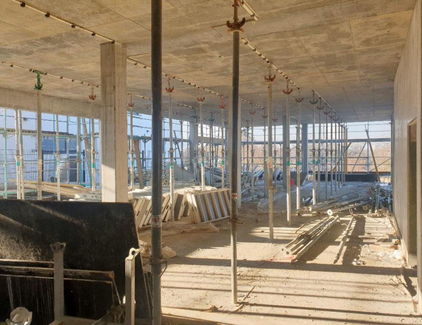 SF-Bau-Rohbau-Neubau Betrieb- und Bürogebäude-Rommelshausen-Schlüsselfertigbau