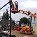 SF-Bau-Stahlträger-Verlängerung Servicehalle-Kirchheim-Schlüsselfertigbau