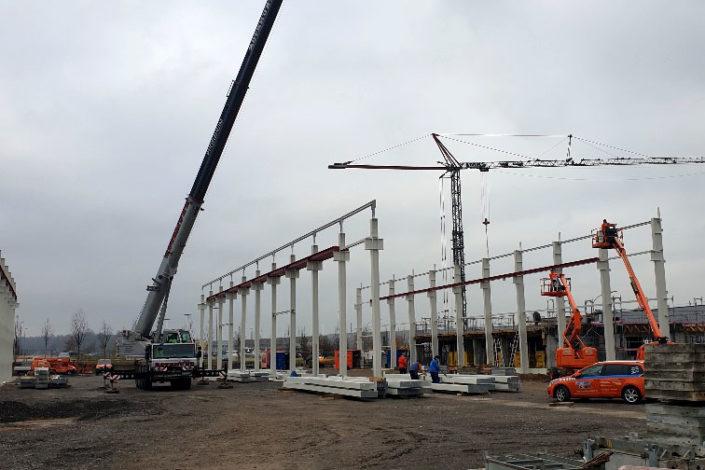 SF-Bau-Stahlbauarbeiten-Hermann Spittelmeister-Pforzheim-Schlüsselfertigbau