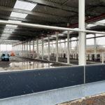 SF-Bau-Fassadenmontage-Neubau Produktionshalle + Verwaltungsbau-Pforzheim-Schlüsslfertigbau