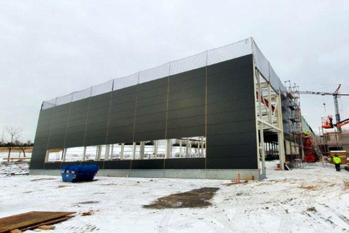 SF-Bau-Fassade-Neubau Produktionshalle +Verwaltungsbau-Pforzheim-Schlüsselfertigbau