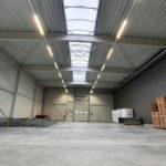 SF-Bau-Abnahme-Hallenerweiterung an bestehendes Gebäude-Schlüsselfertigbau