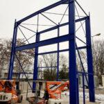 SF-Bau-Stahlbau-Erweiterung Gebäude C-Mannheim-Schlüsselfertigbau