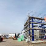 SF-Bau-Gerüst-Erweiterung Gebäude C-Mannheim-Schlüsselfertigbau