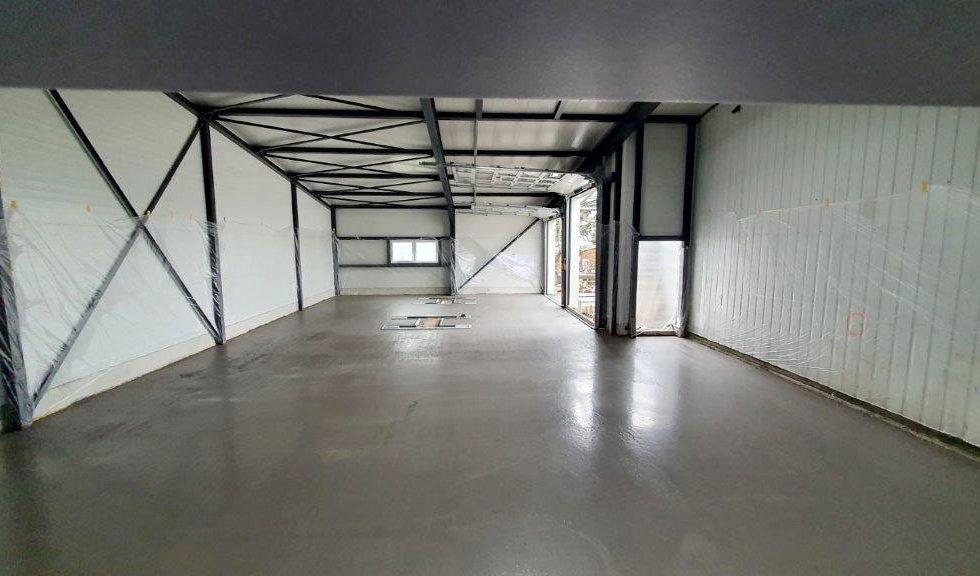 SF-Bau-Bodenplatte-Verlängerung Servicehalle-Kirchheim-Schlüsselfertigbau