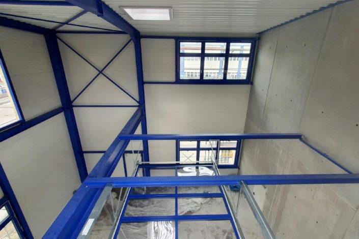 SF-Bau-Attika-Erweiterung Gebäude C-Mannheim-Schlüsselfertigbau