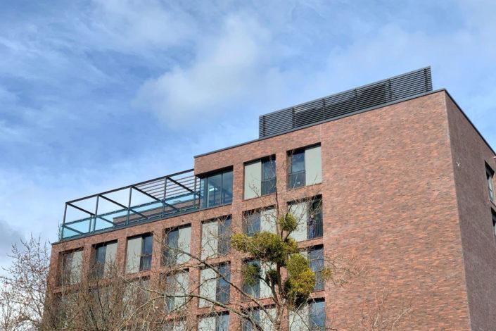 Schlosser-Metallbauarbeiten-Pergola-Neubau Areal-Eislingen