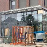 Schlosser-Metallbauarbeiten-Vordach-Neubau Areal-Eislingen