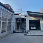 SF-Bau-Baufortschritt-Verlängerung Servicehalle-Kirchheim-Schlüsselfertigbau