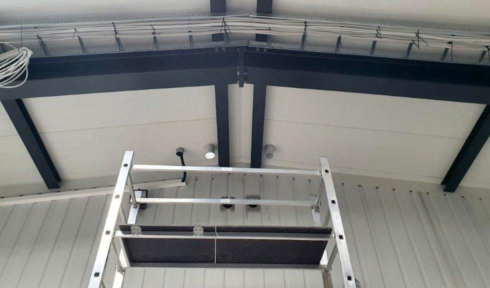 SF-Bau-Verlegung Stromkabel-Verlängerung Servicehalle-Kirchheim-Schlüsselfertigbau