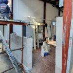 SF-Bau- Mauerwerksarbeiten-Verlängerung Servicehalle-Kirchheim-Schlüsselfertigbau