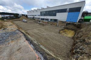 SF-Bau-Aushubarbeiten-Erweiterimg Produktionshalle-Weil der Stadt-Schlüsselfertigbau