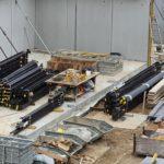 SF-Bau-Stahlbau Anlieferung-Neubau Fitness und Werkstatt-Eislingen-Schlüsselfertigbau